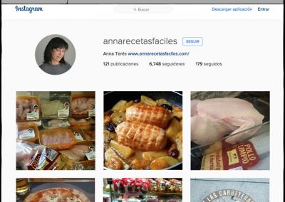 Imágenes de productos Nutrave subidas por la bloguera 'Anna Recetas Fáciles'