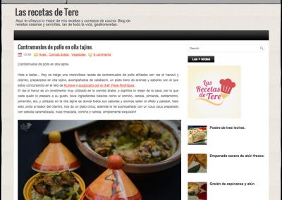Nutrave en el blog de 'Las Recetas de Tere'