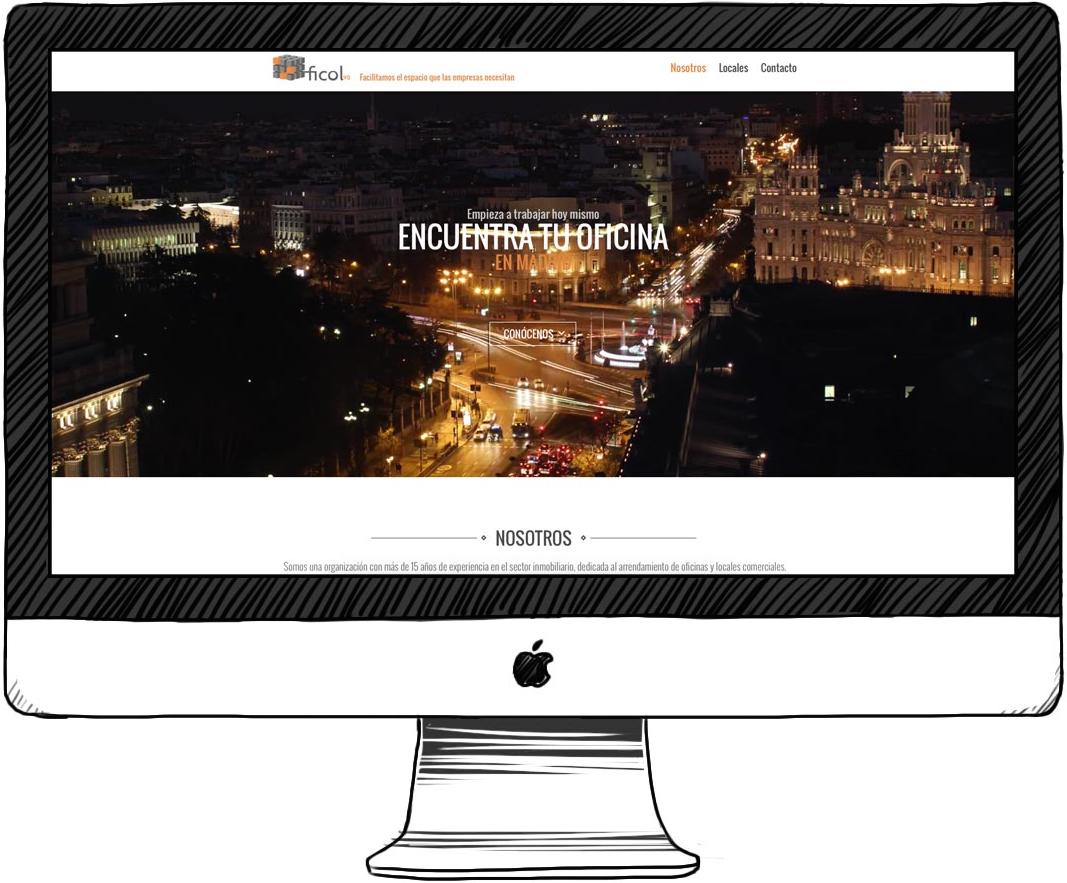 Diseño web para Ficol98