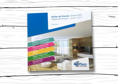 Tarifa 2017 Placo