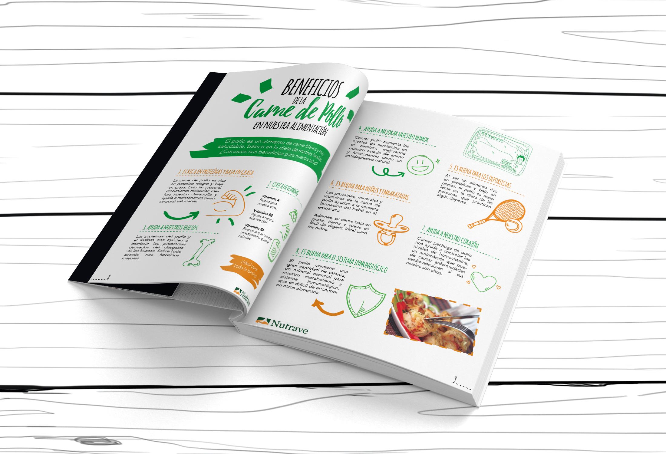 Beneficios del pollo - Libro de recetas Nutrave